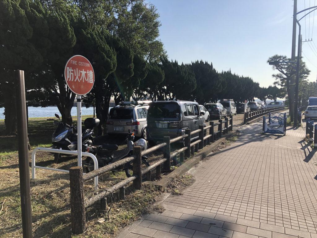 京浜島つばさ公園駐車場